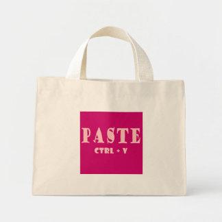 Paste Values Shortcut Tote Bags