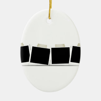 Pasted Polaroids Ornaments