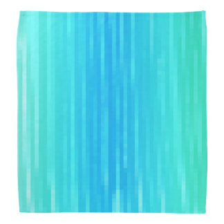 Pastel Abstract Art Teal Turquoise Blue Green Do-rag
