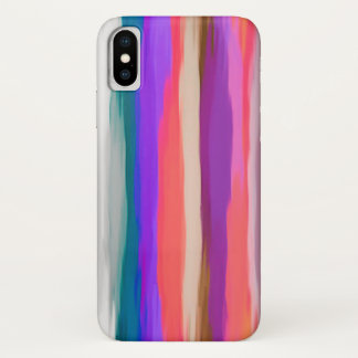 Pastel Abstract Background #5 iPhone X Case