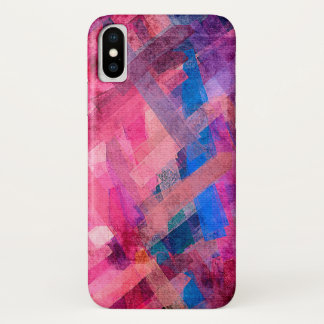 Pastel Abstract Background #6 iPhone X Case