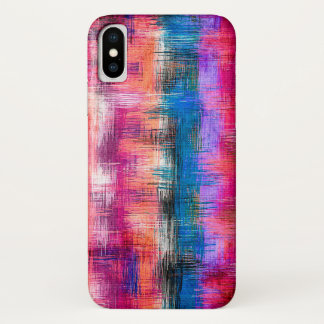 Pastel Abstract Background #7 iPhone X Case