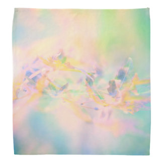 Pastel Abstract Floral Kerchiefs
