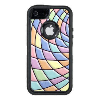 Pastel Abstract Pattern OtterBox Defender iPhone Case