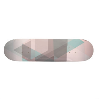 pastel abstract skateboard