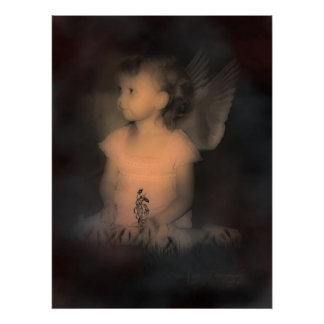 Pastel Angel Poster