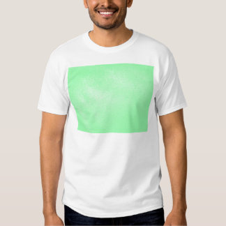 Pastel Aqua Green Leather Look Tee Shirt