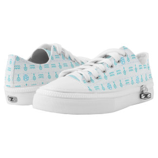 Pastel Aquarius Low Top Shoes Printed Shoes
