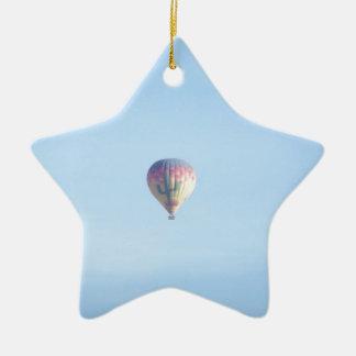 Pastel Balloon Ceramic Star Decoration