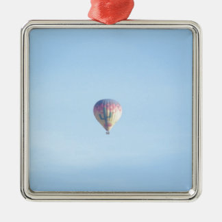Pastel Balloon Silver-Colored Square Decoration