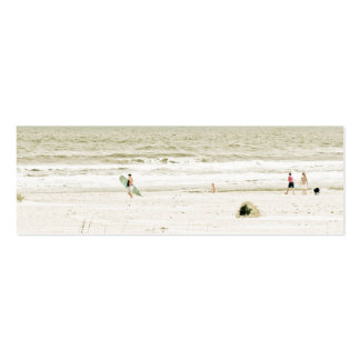 Pastel Beach Scene Pack Of Skinny Business Cards