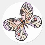 Pastel Beauty Round Sticker