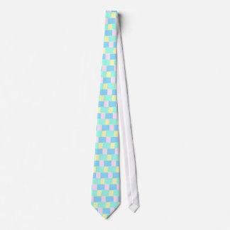 Pastel Blocks Tie