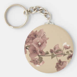 Pastel blossoms keychain