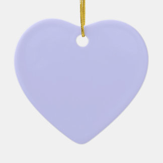 Pastel Blue 5 Ceramic Heart Decoration