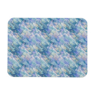 Pastel Blue Abstraction Magnet