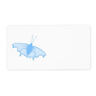 Pastel Blue Butterfly.