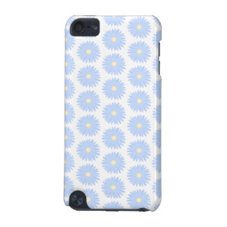 Pastel Blue Flowers. iPod Touch 5G Cover