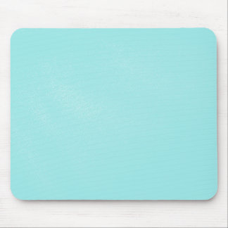 Pastel Blue Leather Look Mouse Mat