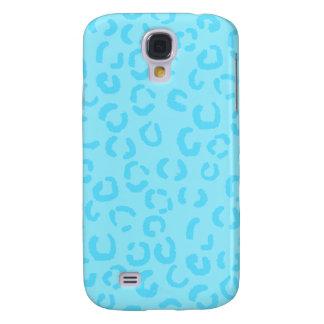 Pastel Blue Leopard Pern. Galaxy S4 Case