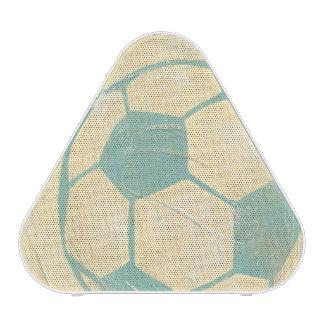 Pastel Blue Soccer Ball by Chariklia Zarris