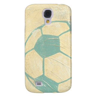 Pastel Blue Soccer Ball by Chariklia Zarris Galaxy S4 Case