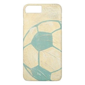 Pastel Blue Soccer Ball by Chariklia Zarris iPhone 8 Plus/7 Plus Case