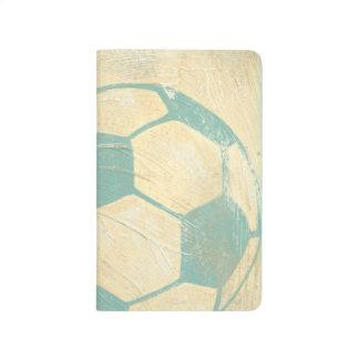 Pastel Blue Soccer Ball by Chariklia Zarris Journal