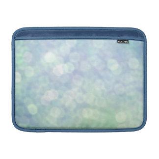 Pastel Blue sparkles / glitter (matt) Sleeve For MacBook Air