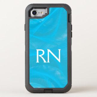 Pastel Blue Swirl RN phone case