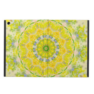 PASTEL BOHEMIAN KALEIDOSCOPIC GEOMETRIC MANDALA iPad AIR CASE