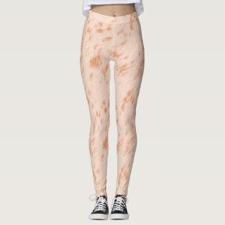 Pastel Brown Leggings