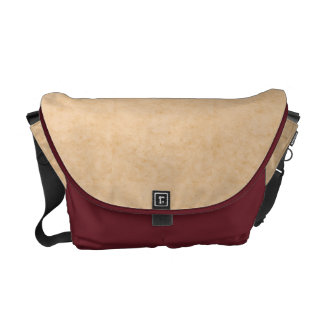 Pastel Brown Marble Texture Commuter Bag