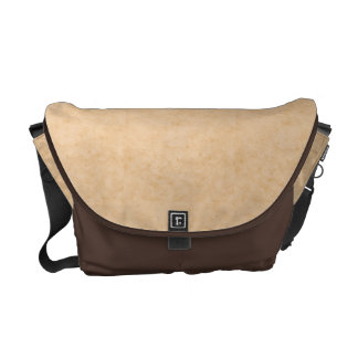 Pastel Brown Marble Texture Messenger Bag