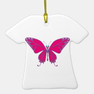 PASTEL BUTTERFLY CHRISTMAS TREE ORNAMENT