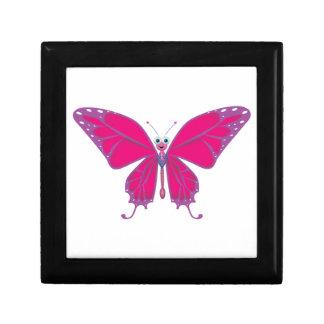 Pastel Butterfly Jewelry Box