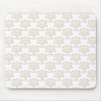 Pastel Cake Pattern. Mouse Pads