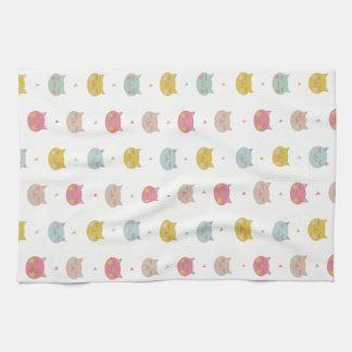 Pastel Cats Kitchen Towel