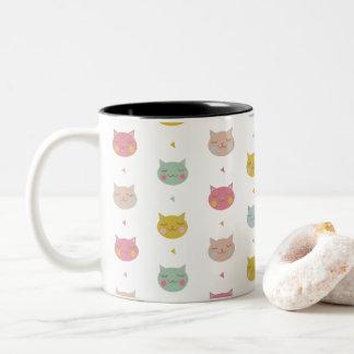 Pastel Cats Mug