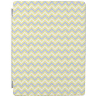 Pastel Chevron Pattern iPad Cover