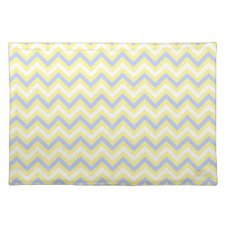 Pastel Chevron Pattern Placemat