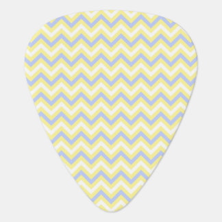 Pastel Chevron Pattern Plectrum