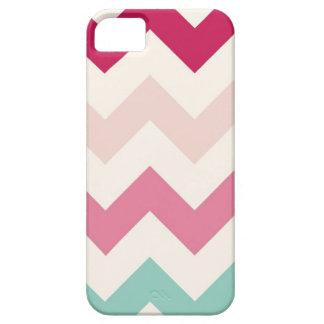 Pastel chevron zigzag stripes zig zag pattern chic barely there iPhone 5 case