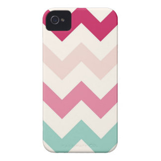 Pastel chevron zigzag stripes zig zag pattern chic iPhone 4 covers