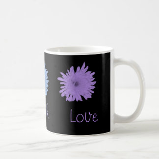Pastel Coloful Chrysanthemums Coffee Mug