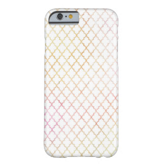 Pastel Color Modern Quatrefoil iPhone 6 Case