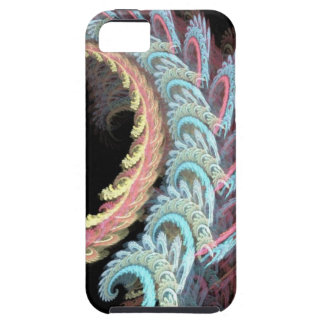 Pastel Color Paisley Fractal Art Design Gifts Tough iPhone 5 Case