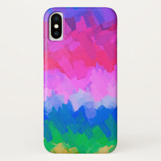Pastel Colored Abstract Background #6 iPhone X Case