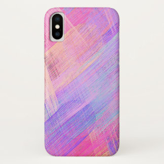 Pastel Colored Abstract Background #8 iPhone X Case