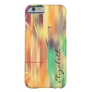 Pastel Colored Abstract Pattern #4 Barely There iPhone 6 Case